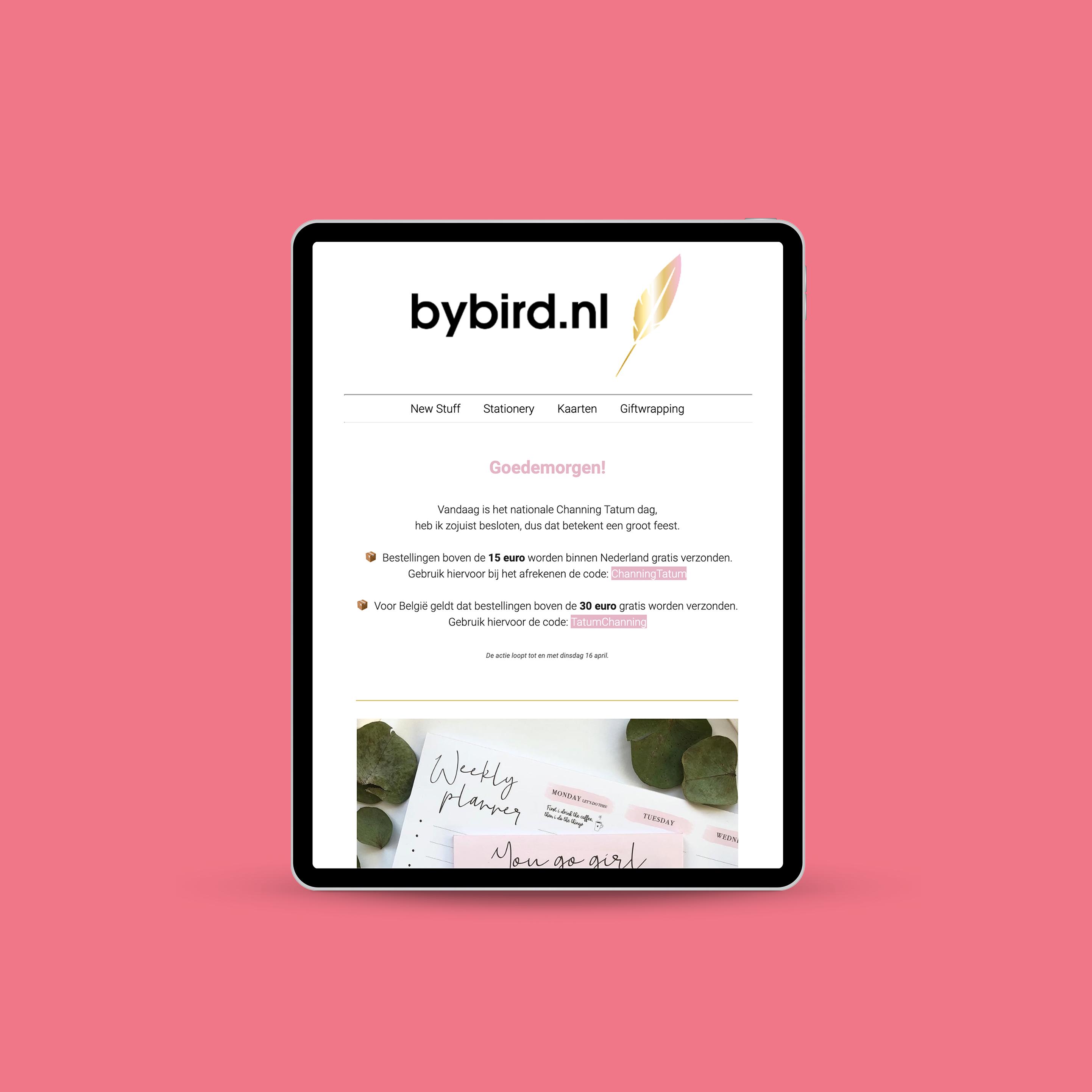 Nieuwsbrief – bybird.nl