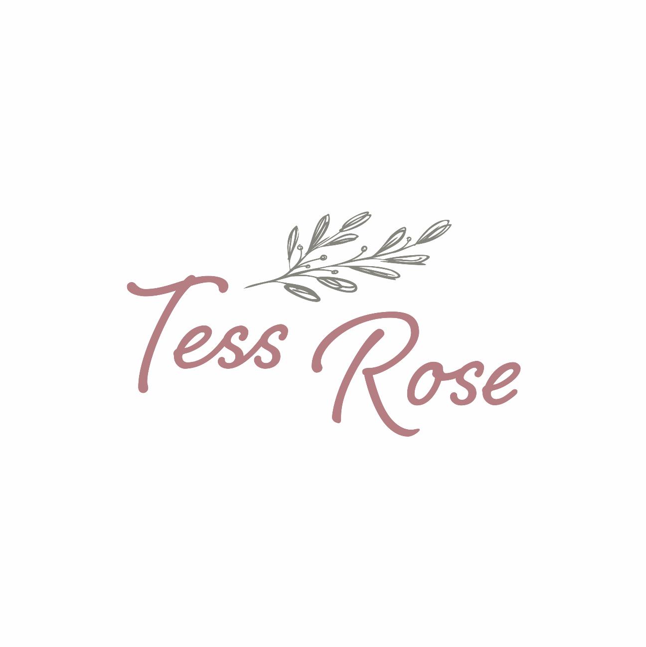 Logo ontwerp Tess Rose