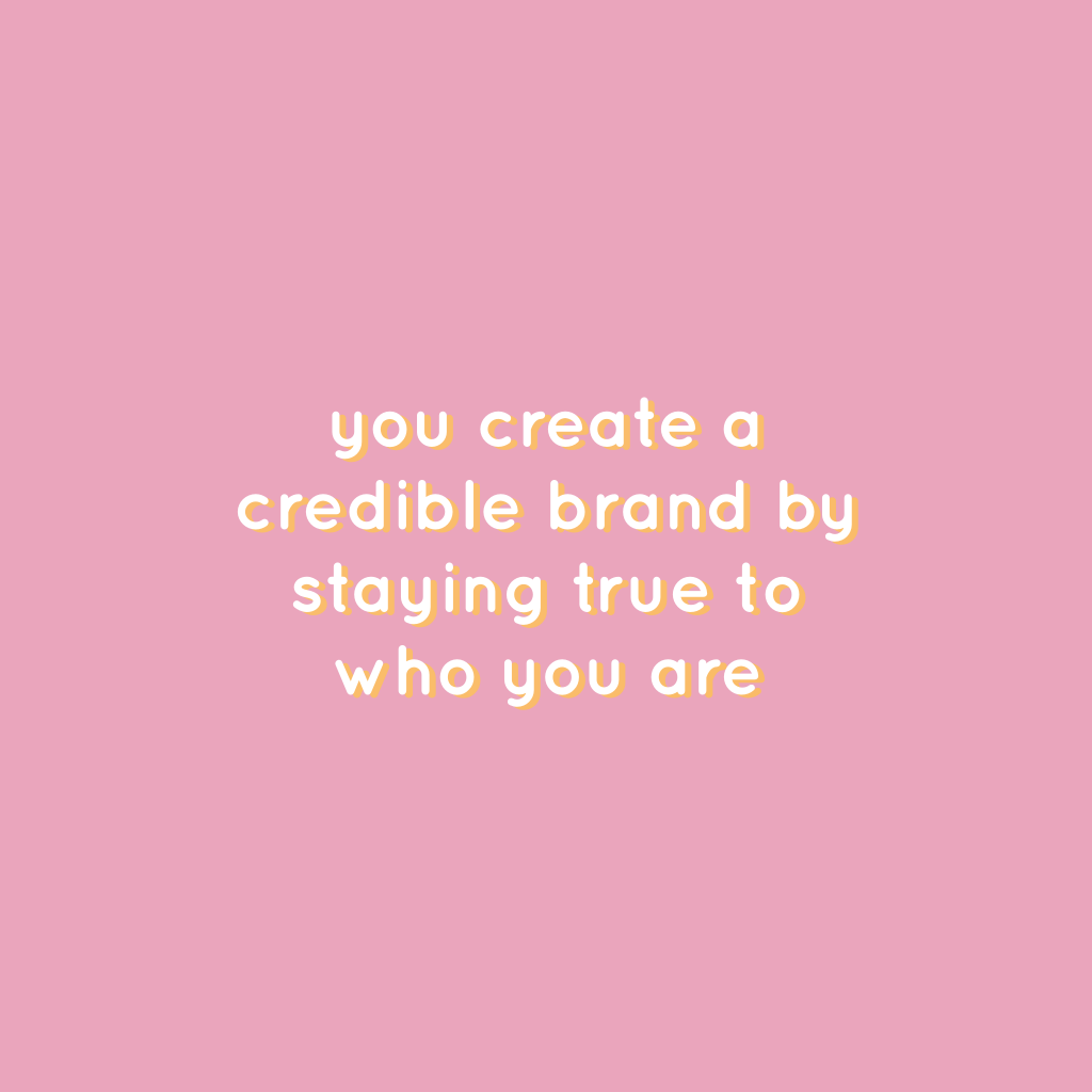 You create a credible brand by staying true to who you are. Personal branding inzetten als ondernemer