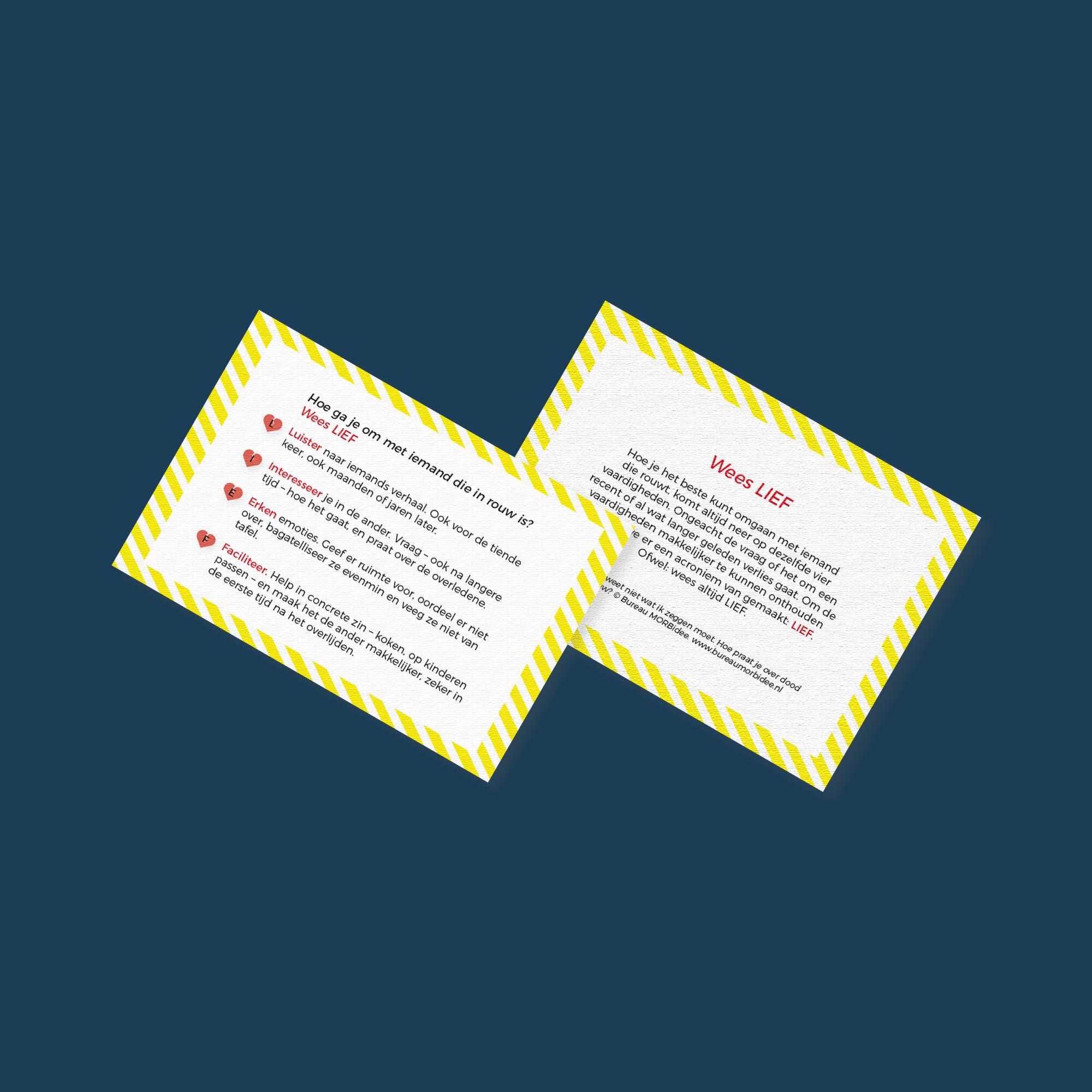 Flyer ontwerp Bureau MORBidee