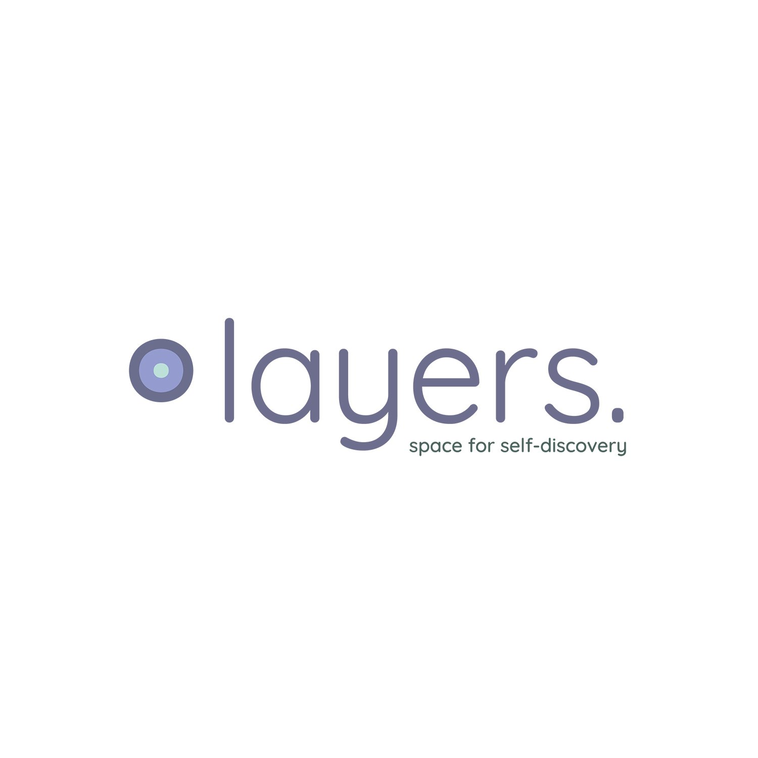 Logo ontwerp layers.