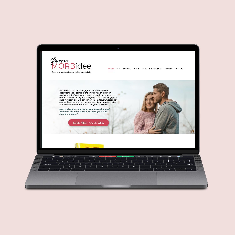 Website ontwerp Bureau MORBidee
