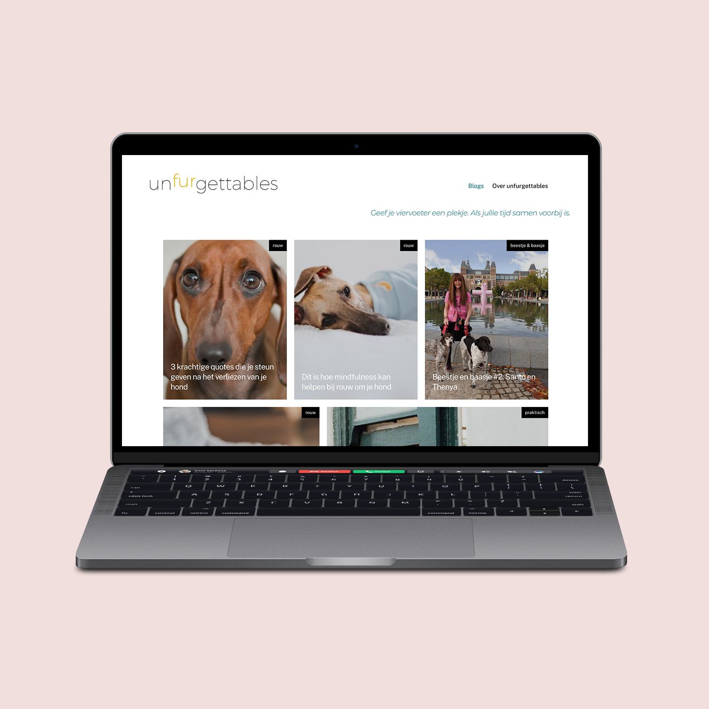 Website ontwerp unfurgettables