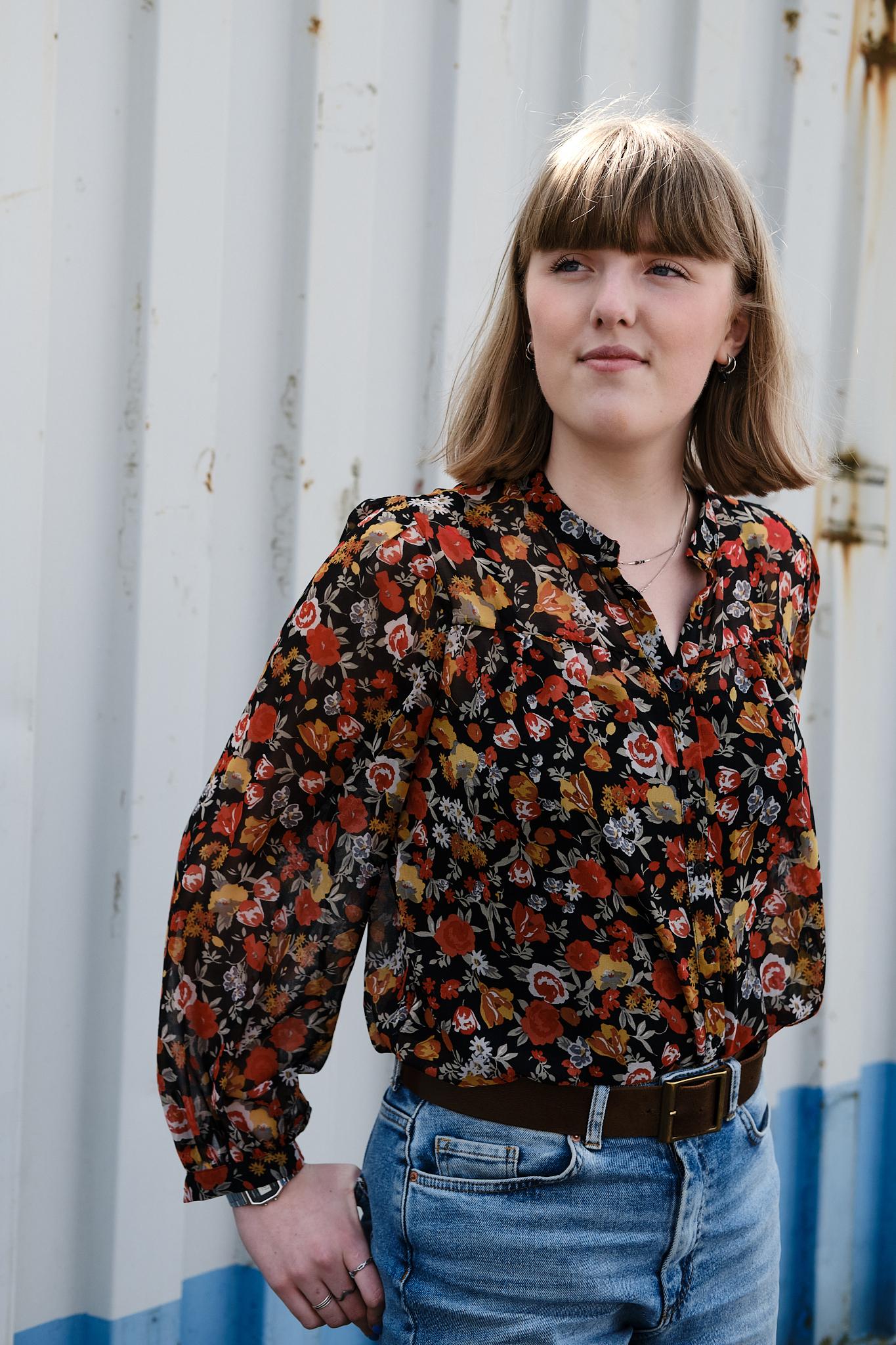 Carmen, stagiaire bij Studio Pinck