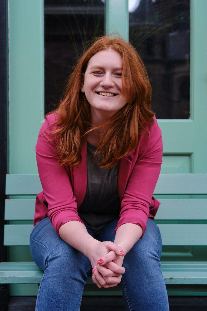 Anne-Loes, eigenaar Studio Pinck. Gek op inspiratie sessies