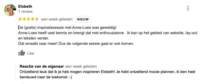 Review Elsbeth